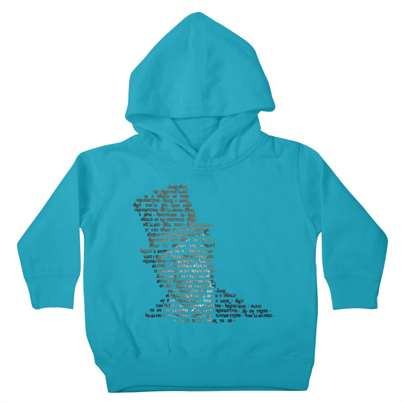 Pure Imagination Kids Toddler Pullover Hoody by Shappie's Glorious Design Shop
