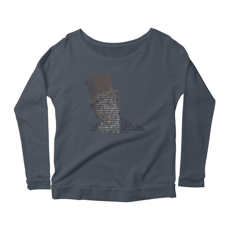 Pure Imagination Women's Scoop Neck Longsleeve T-Shirt by Shappie's Glorious Design Shop