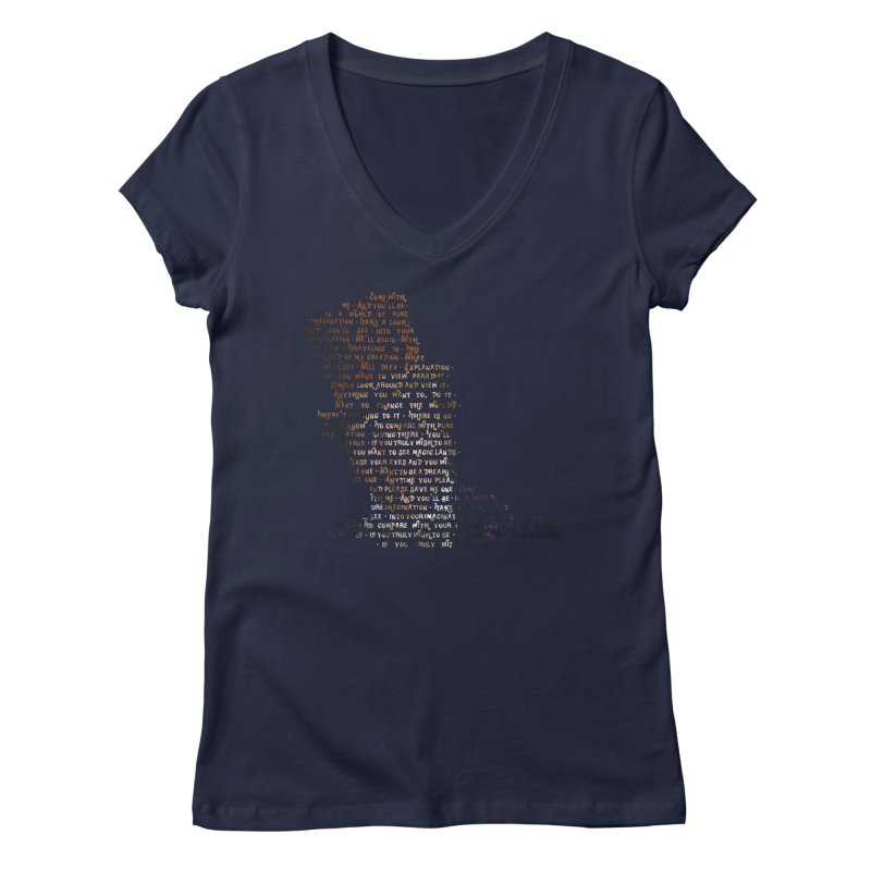Pure Imagination Women's V-Neck by Shappie's Glorious Design Shop