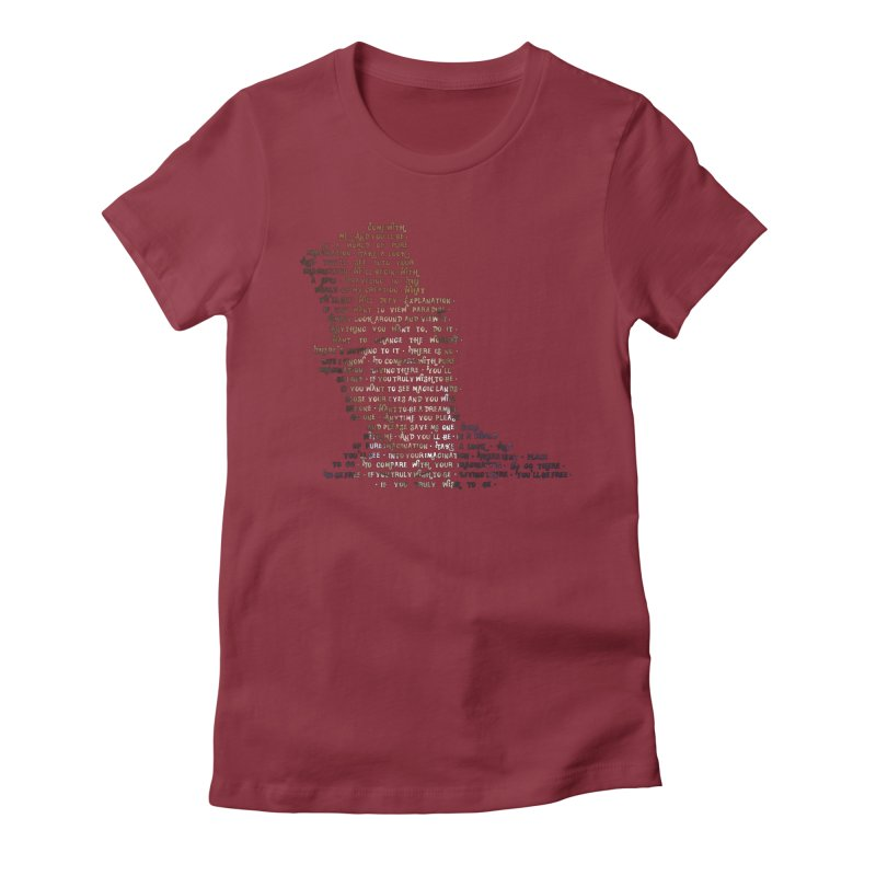 Pure Imagination Women's Fitted T-Shirt by Shappie's Glorious Design Shop