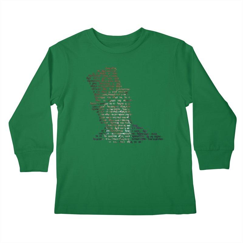 Pure Imagination Kids Longsleeve T-Shirt by Shappie's Glorious Design Shop