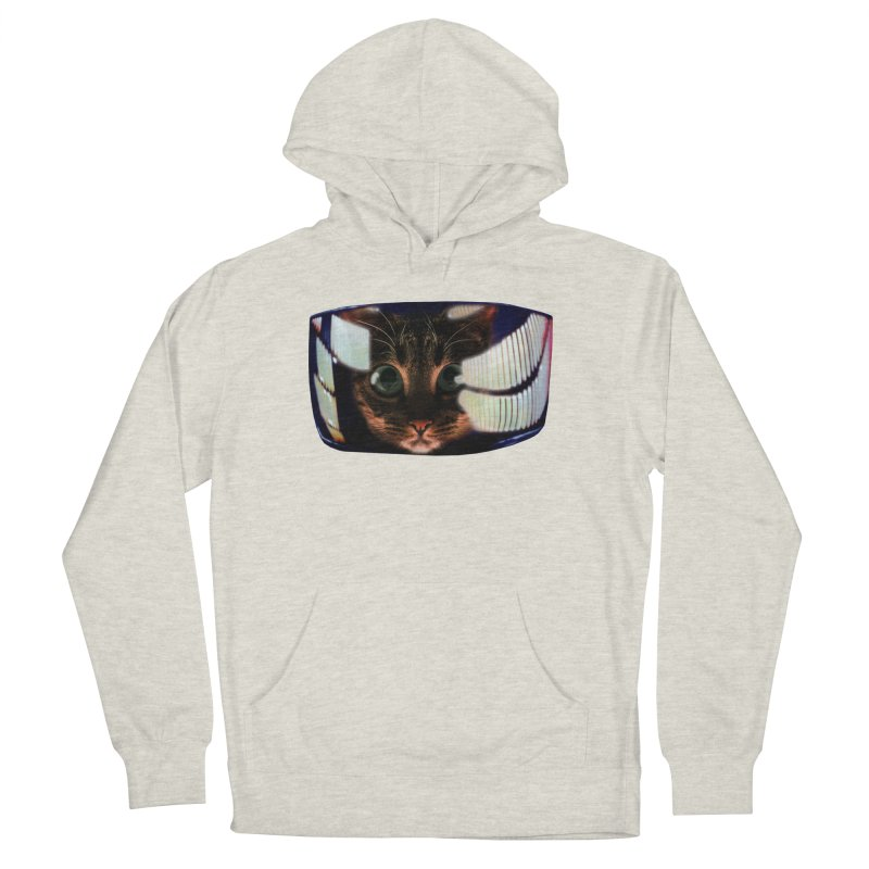 My God..It's Full of Catnip! Men's French Terry Pullover Hoody by Shappie's Glorious Design Shop