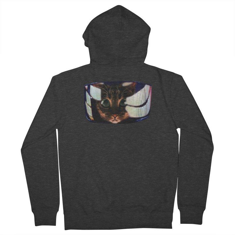 My God..It's Full of Catnip! Men's Zip-Up Hoody by Shappie's Glorious Design Shop