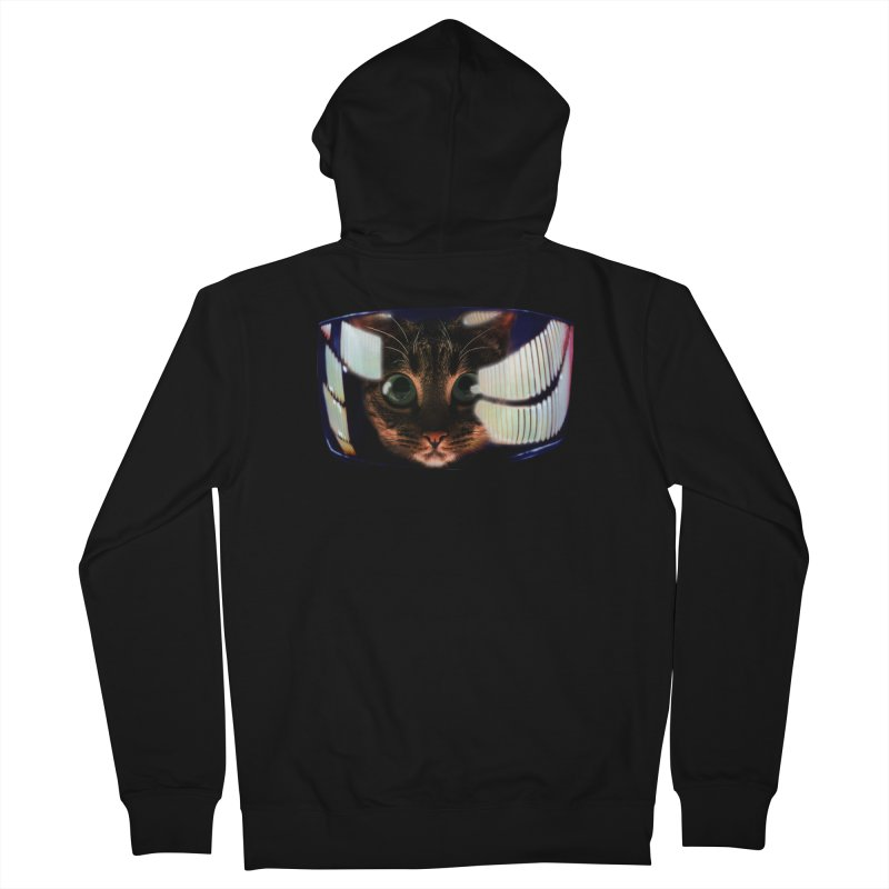 My God..It's Full of Catnip! Men's Zip-Up Hoody by Shappie's Glorious Design Shop