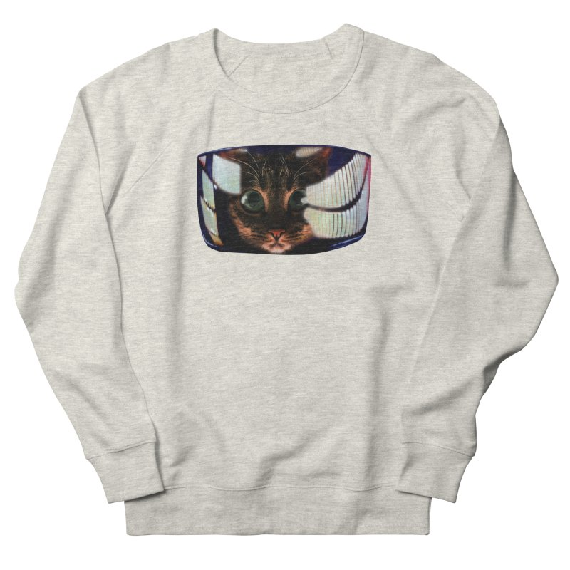 My God..It's Full of Catnip! Women's French Terry Sweatshirt by Shappie's Glorious Design Shop