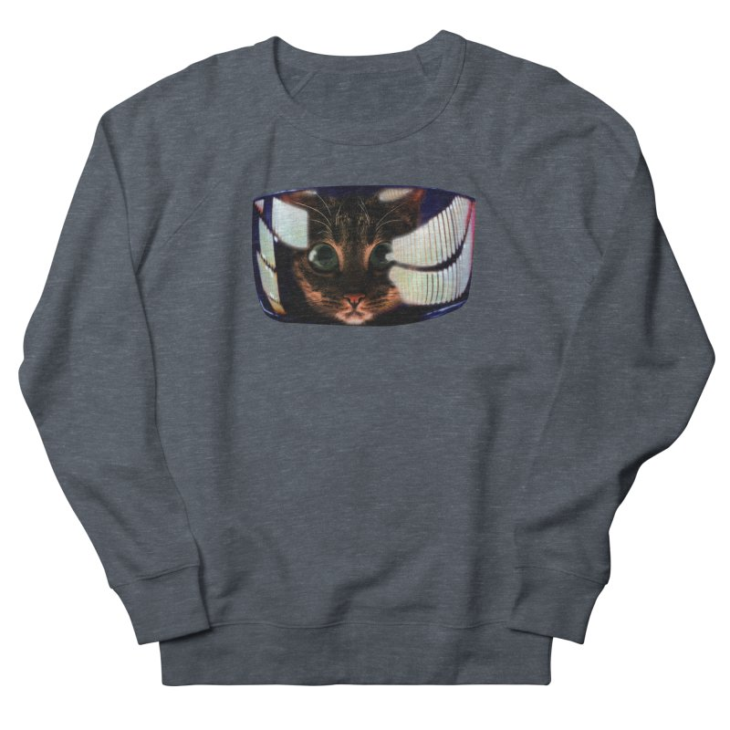 My God..It's Full of Catnip! Men's French Terry Sweatshirt by Shappie's Glorious Design Shop