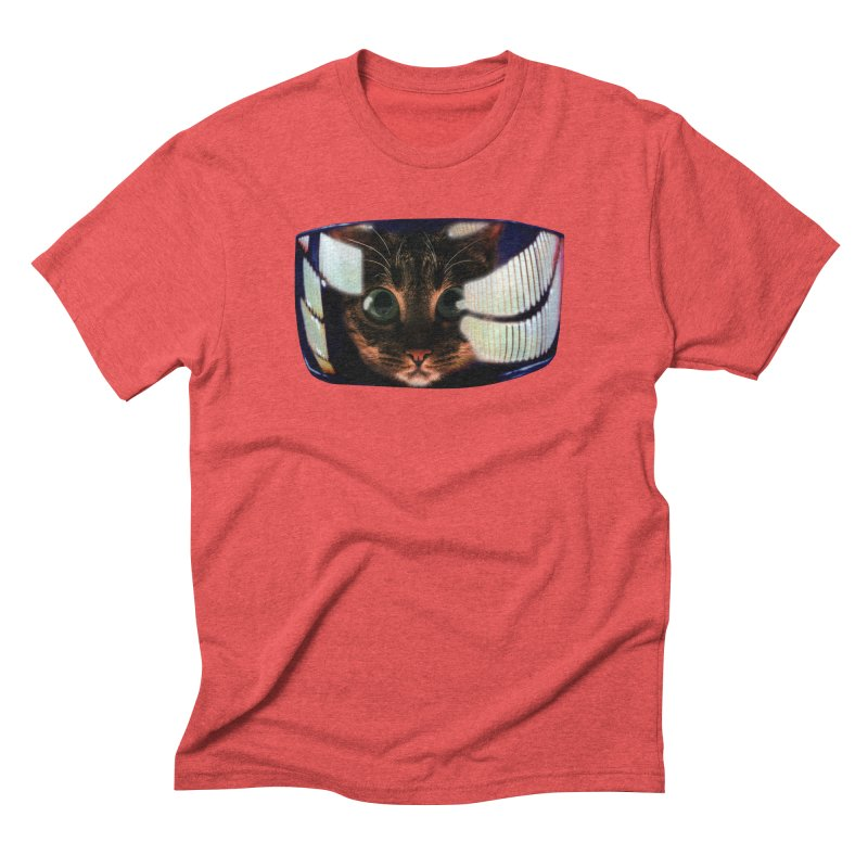 My God..It's Full of Catnip! Men's Triblend T-Shirt by Shappie's Glorious Design Shop