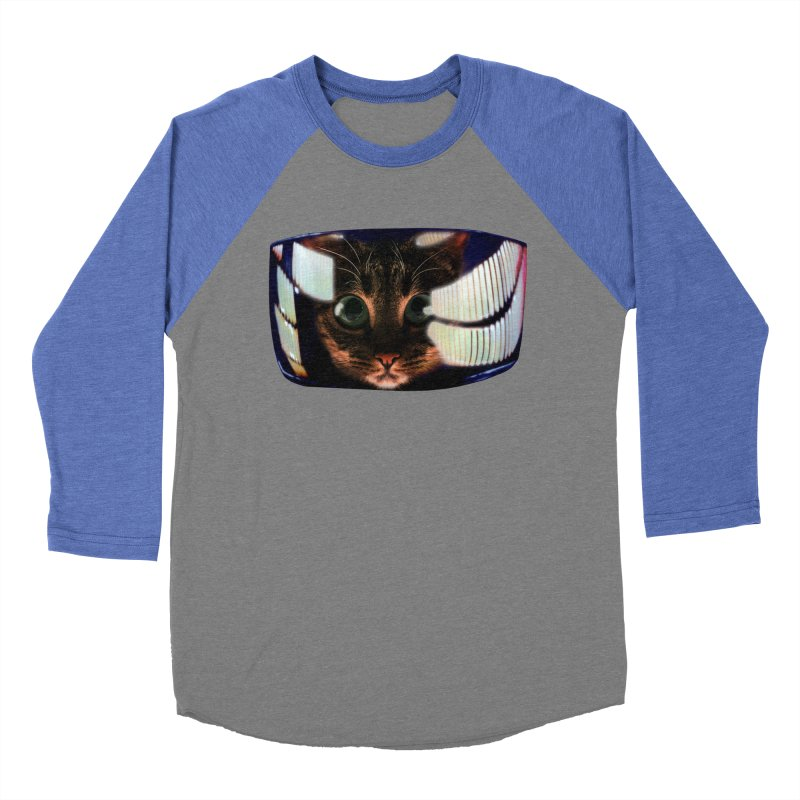 My God..It's Full of Catnip! Men's Baseball Triblend T-Shirt by Shappie's Glorious Design Shop