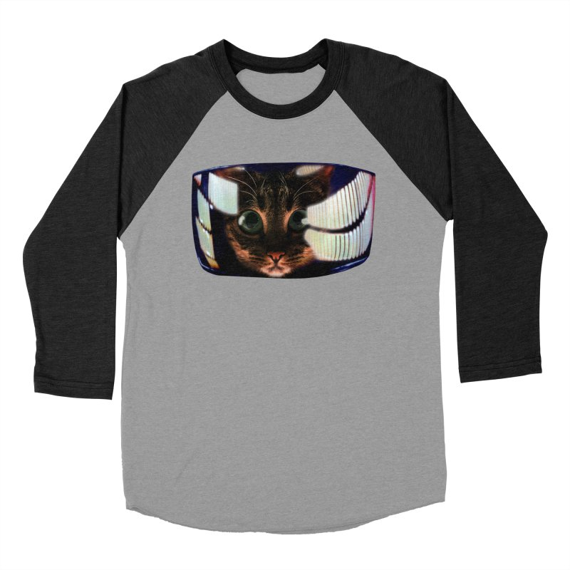 My God..It's Full of Catnip! Men's Baseball Triblend T-Shirt by Shappie's Glorious Design Shop