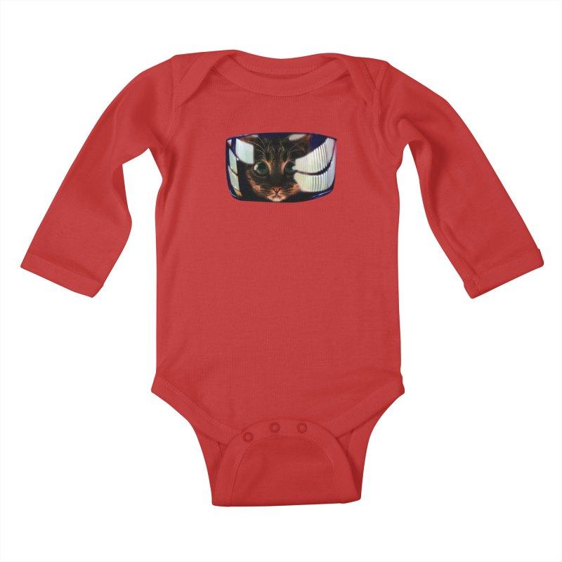My God..It's Full of Catnip! Kids Baby Longsleeve Bodysuit by Shappie's Glorious Design Shop