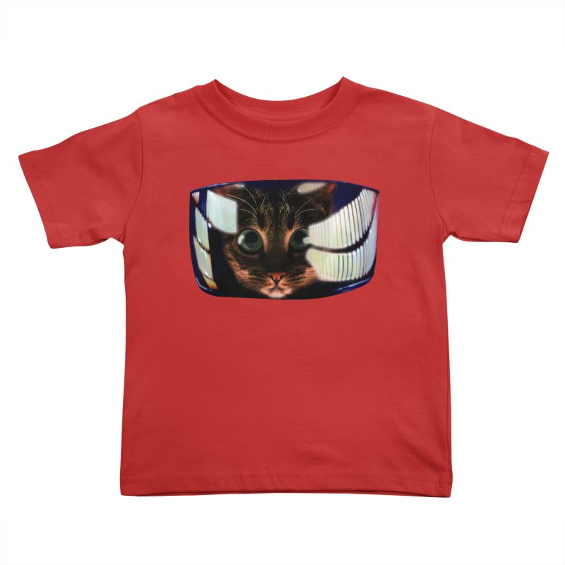 My God..It's Full of Catnip! Kids Toddler T-Shirt by Shappie's Glorious Design Shop