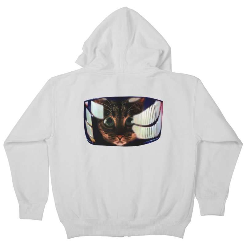 My God..It's Full of Catnip! Kids Zip-Up Hoody by Shappie's Glorious Design Shop