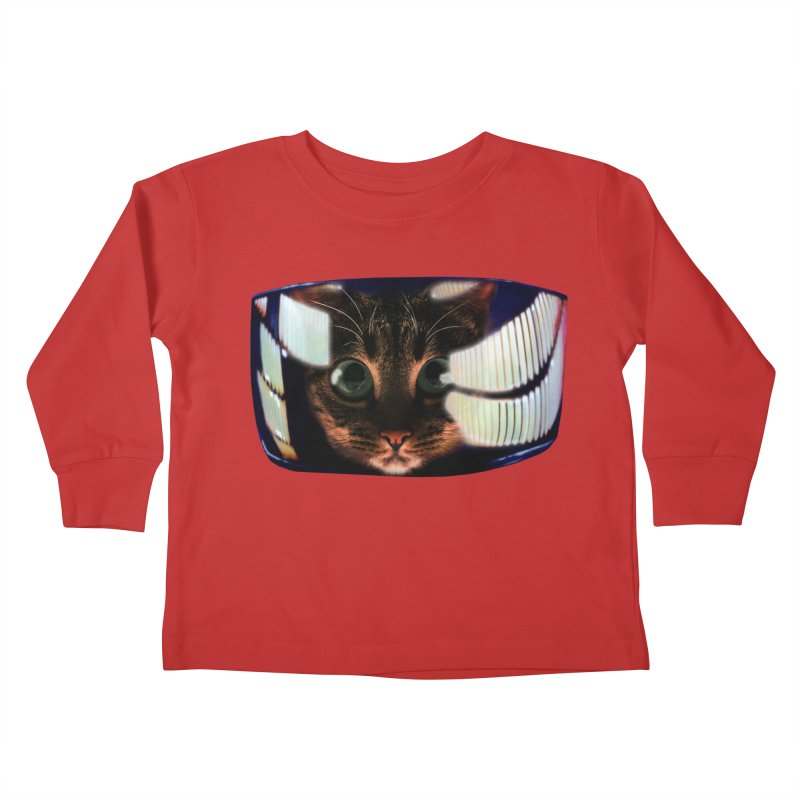 My God..It's Full of Catnip! Kids Toddler Longsleeve T-Shirt by Shappie's Glorious Design Shop