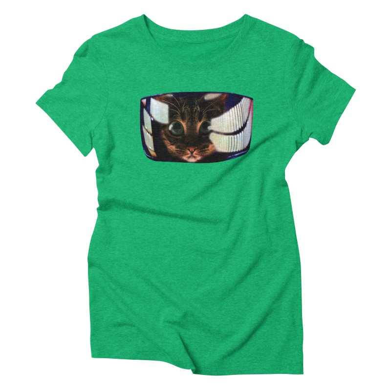 My God..It's Full of Catnip! Women's Triblend T-Shirt by Shappie's Glorious Design Shop