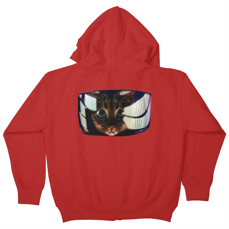 My God..It's Full of Catnip! Kids Zip-Up Hoody by Shappie's Glorious Design Shop