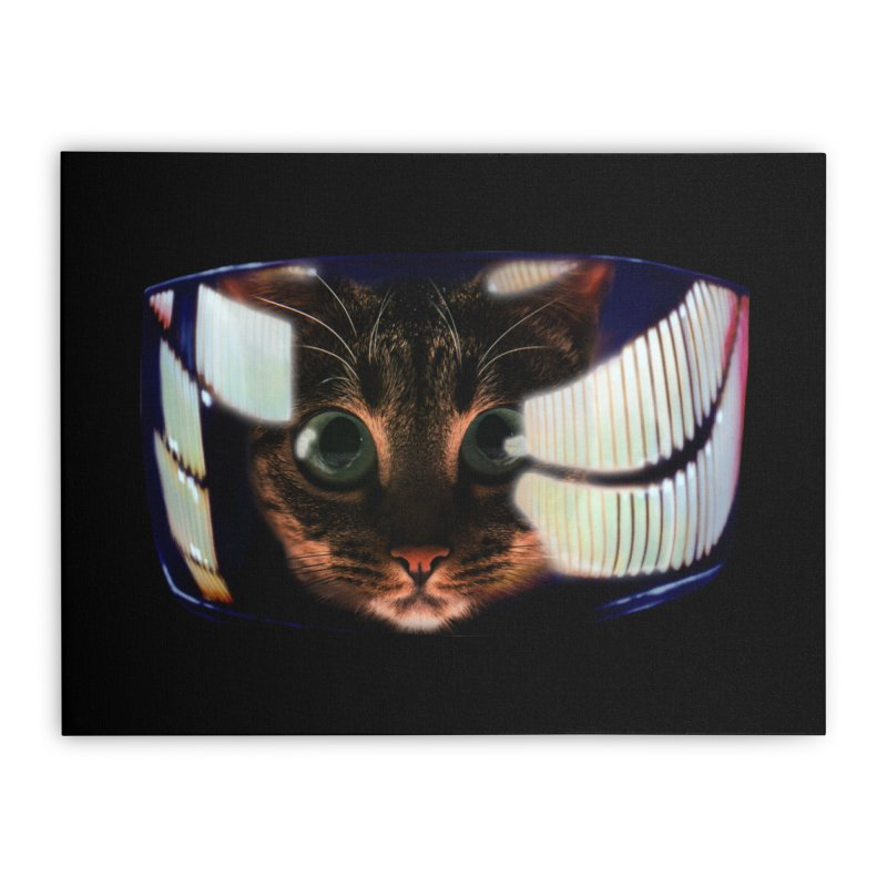 My God..It's Full of Catnip! Home Stretched Canvas by Shappie's Glorious Design Shop