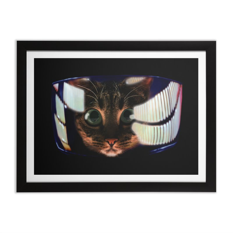 My God..It's Full of Catnip! Home Framed Fine Art Print by Shappie's Glorious Design Shop
