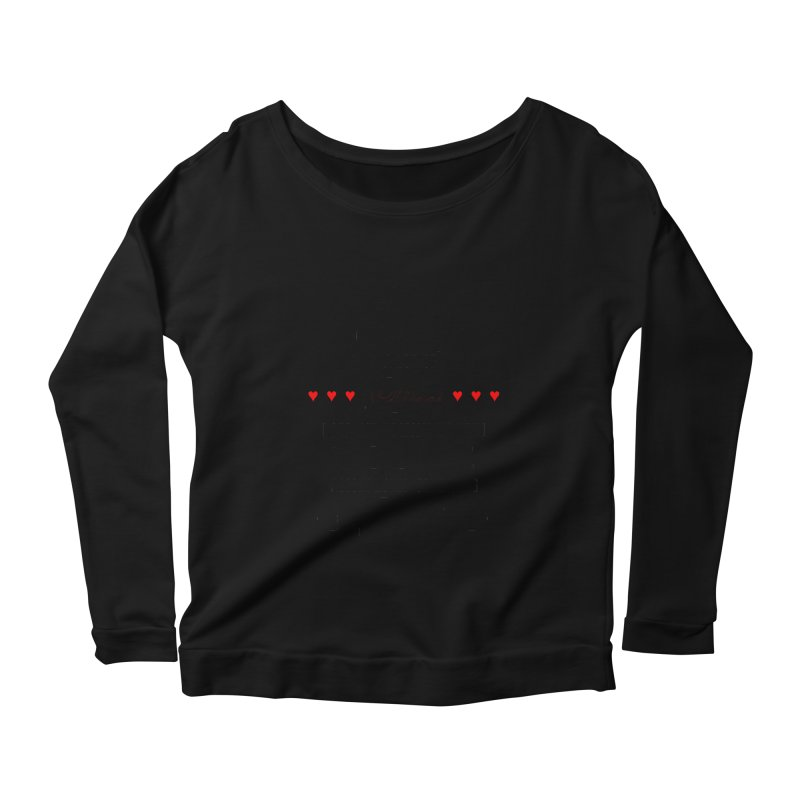 The Greatest Accomplishment Women's Scoop Neck Longsleeve T-Shirt by Shappie's Glorious Design Shop