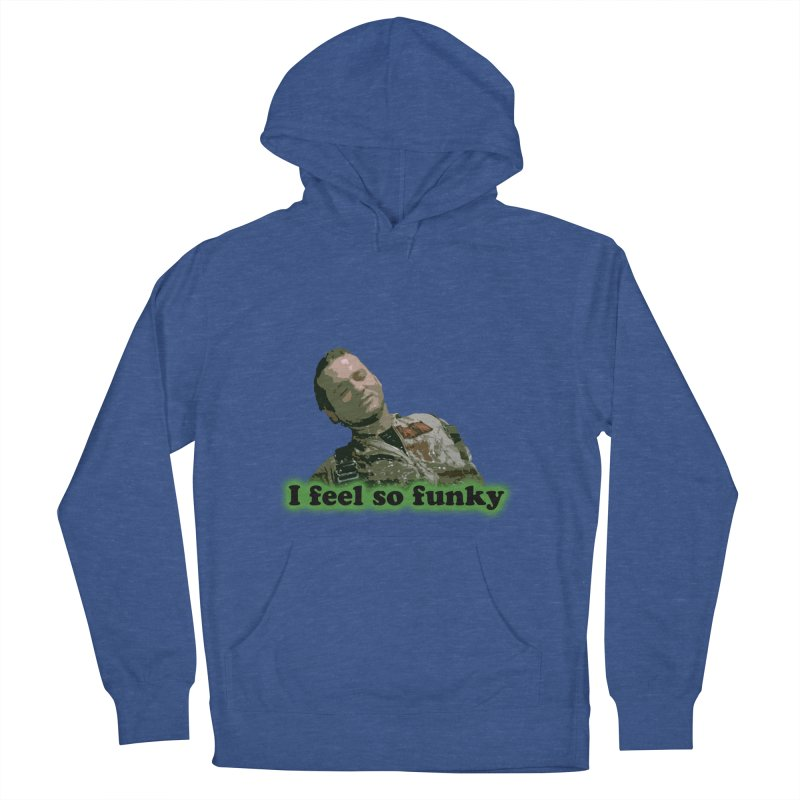 I Feel So Funky Men's French Terry Pullover Hoody by Shappie's Glorious Design Shop