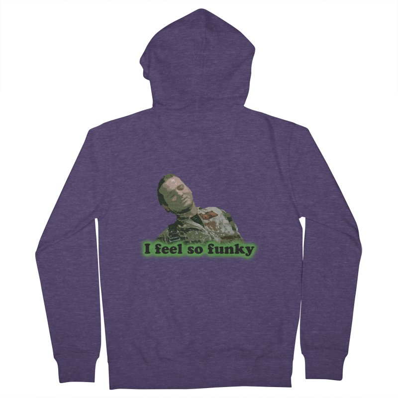 I Feel So Funky Men's Zip-Up Hoody by Shappie's Glorious Design Shop