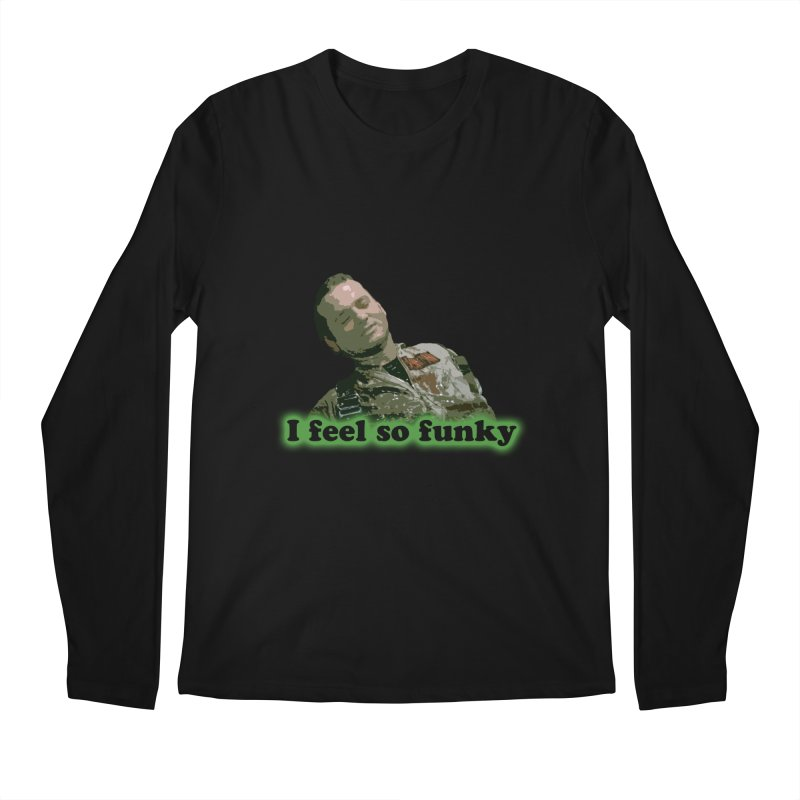 I Feel So Funky Men's Regular Longsleeve T-Shirt by Shappie's Glorious Design Shop