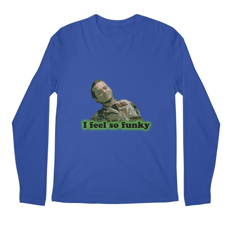 I Feel So Funky Men's Regular Longsleeve T-Shirt by Shappie's Glorious Design Shop