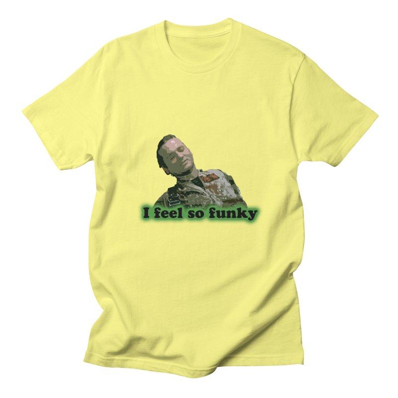 I Feel So Funky Men's Regular T-Shirt by Shappie's Glorious Design Shop