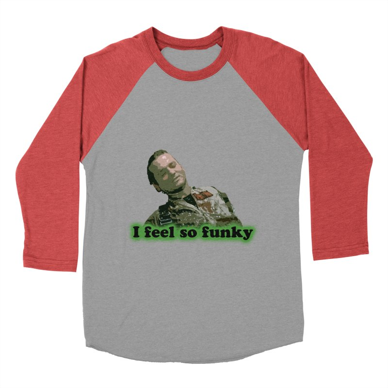 I Feel So Funky Men's Baseball Triblend Longsleeve T-Shirt by Shappie's Glorious Design Shop
