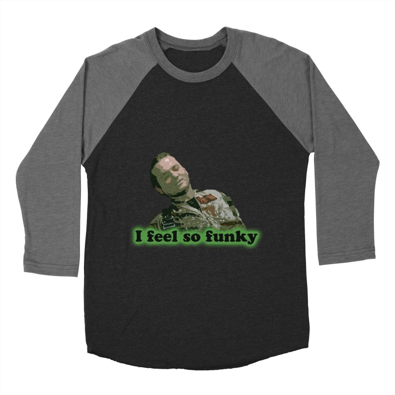 I Feel So Funky Men's Baseball Triblend Longsleeve T-Shirt by Shappie's Glorious Design Shop