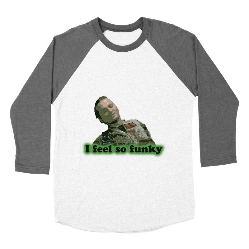I Feel So Funky Men's Baseball Triblend T-Shirt by Shappie's Glorious Design Shop