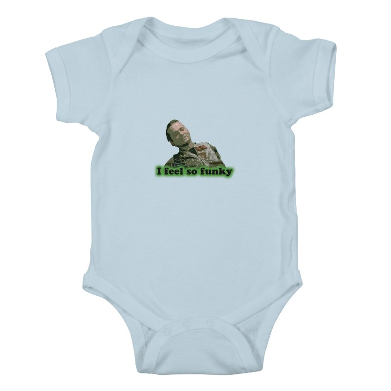I Feel So Funky Kids Baby Bodysuit by Shappie's Glorious Design Shop