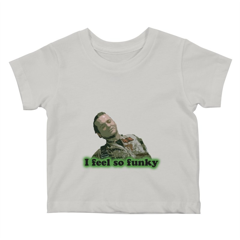 I Feel So Funky Kids Baby T-Shirt by Shappie's Glorious Design Shop