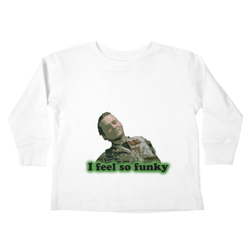 I Feel So Funky Kids Toddler Longsleeve T-Shirt by Shappie's Glorious Design Shop