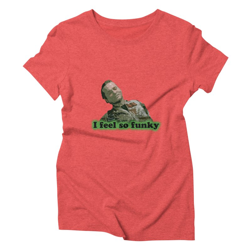 I Feel So Funky Women's Triblend T-Shirt by Shappie's Glorious Design Shop