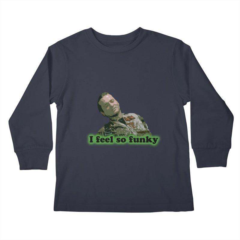 I Feel So Funky Kids Longsleeve T-Shirt by Shappie's Glorious Design Shop