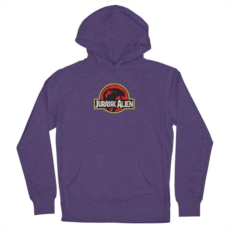 Jurassic Alien Men's Pullover Hoody by Shappie's Glorious Design Shop
