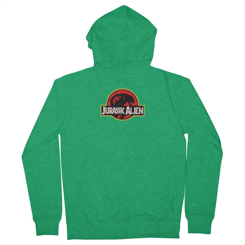 Jurassic Alien Women's Zip-Up Hoody by Shappie's Glorious Design Shop