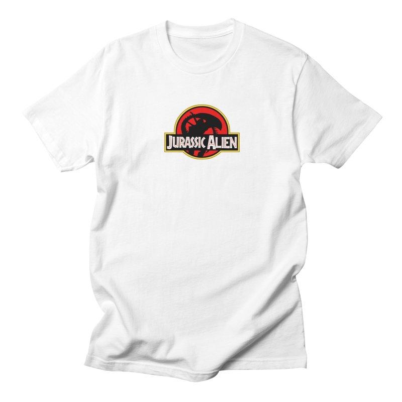 Jurassic Alien Men's T-Shirt by Shappie's Glorious Design Shop