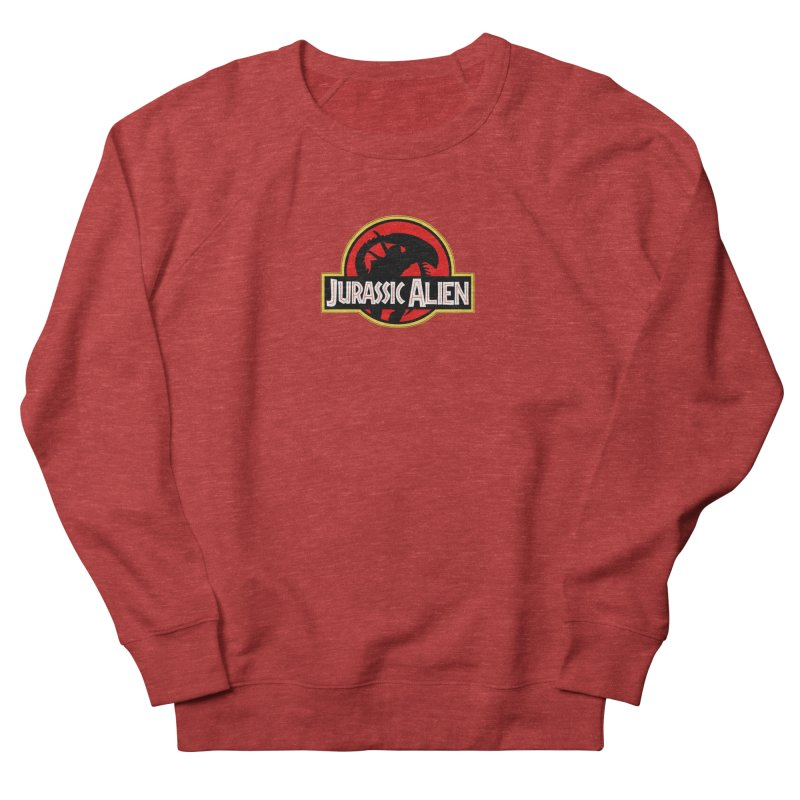 Jurassic Alien Men's French Terry Sweatshirt by Shappie's Glorious Design Shop