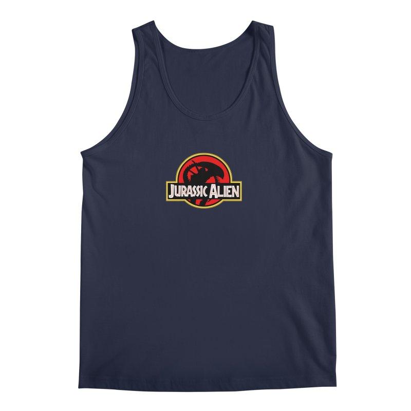 Jurassic Alien Men's Tank by Shappie's Glorious Design Shop