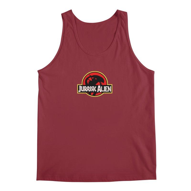 Jurassic Alien Men's Regular Tank by Shappie's Glorious Design Shop