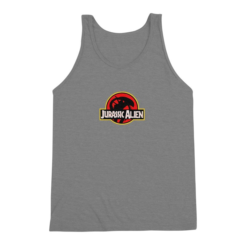 Jurassic Alien Men's Triblend Tank by Shappie's Glorious Design Shop