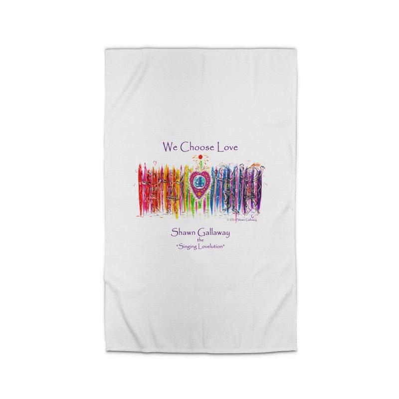 We Choose Love Home Rug by Shawn Gallaway Artist Shop