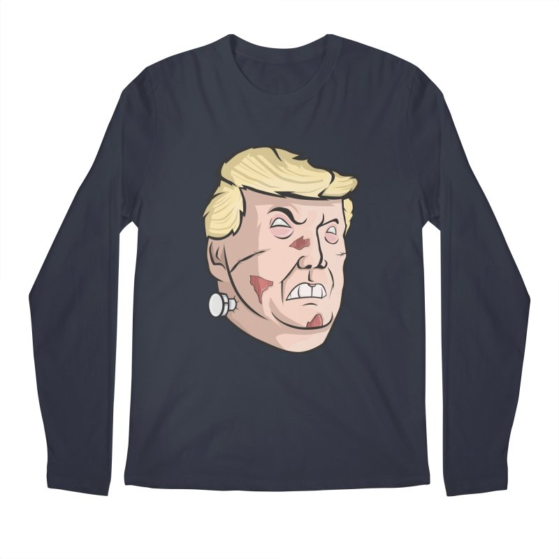 Trump-instein Men's Longsleeve T-Shirt by Sheepdogdesign's Artist Shop
