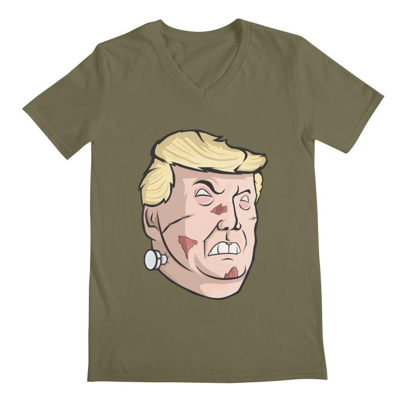 Trump-instein Men's V-Neck by Sheepdogdesign's Artist Shop