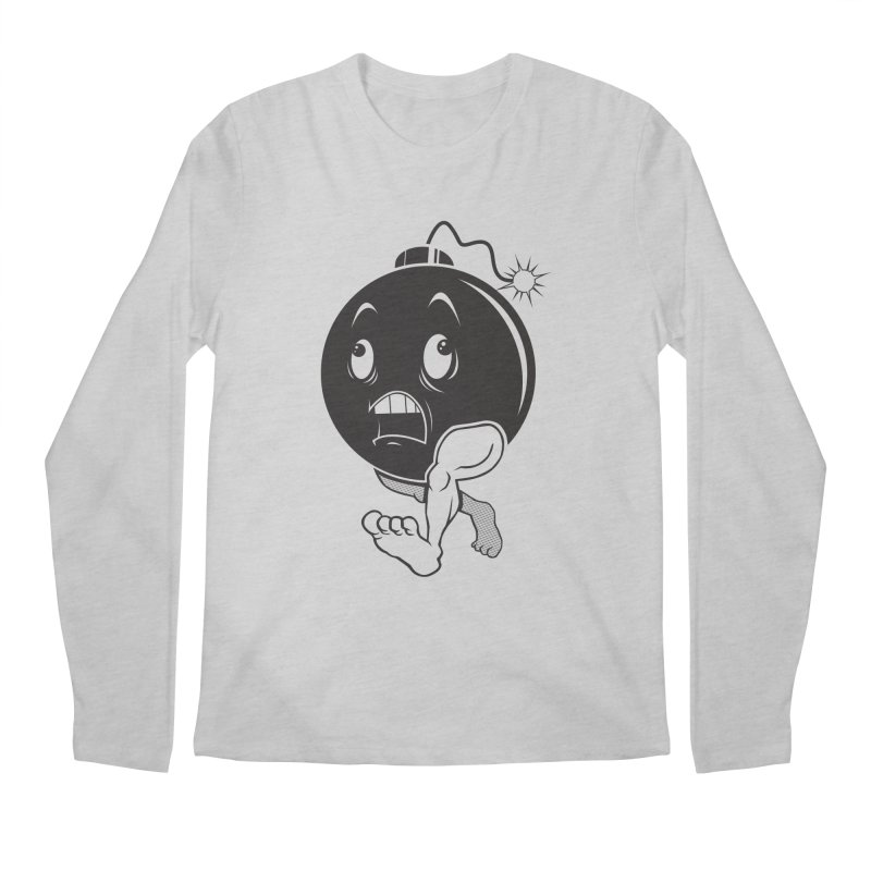 A Short Fuse Men's Longsleeve T-Shirt by Sheepdogdesign's Artist Shop