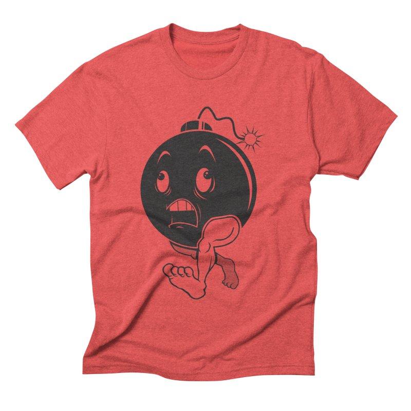 A Short Fuse Men's Triblend T-shirt by Sheepdogdesign's Artist Shop