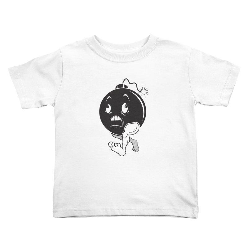 A Short Fuse Kids Toddler T-Shirt by Sheepdogdesign's Artist Shop