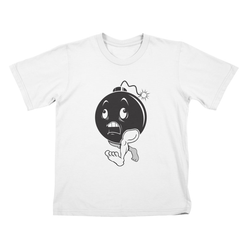 A Short Fuse Kids T-Shirt by Sheepdogdesign's Artist Shop