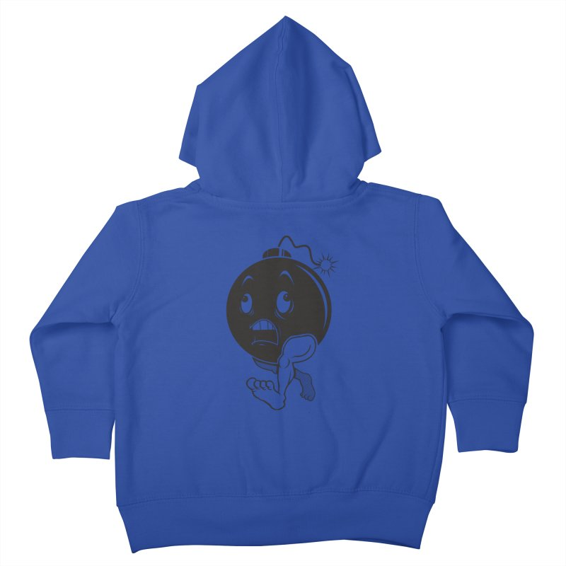 A Short Fuse Kids Toddler Zip-Up Hoody by Sheepdogdesign's Artist Shop